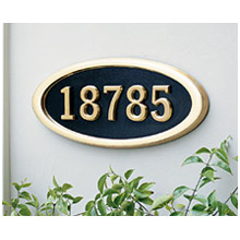 3Address Plaque