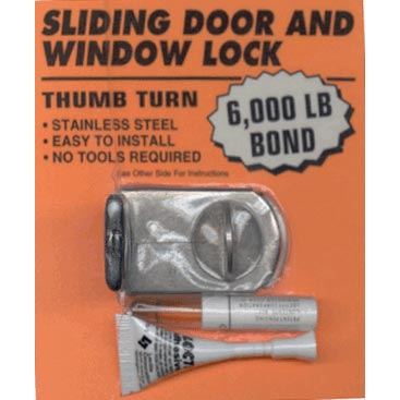 Sliding Door And Window Lock
