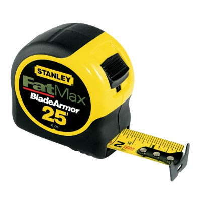 Tape Measures Different Sizes & Types
